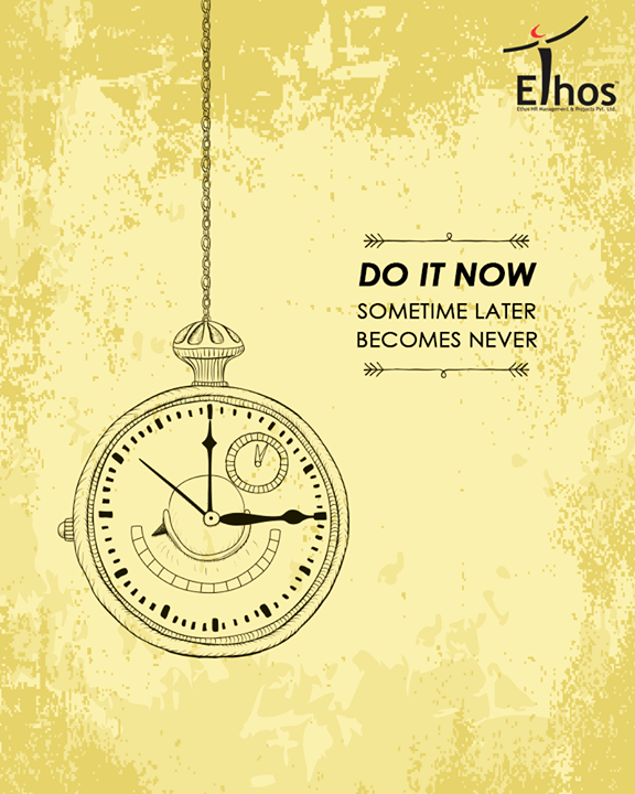 Be a doer, not a pusher!  #EthosIndia #Ahmedabad #EthosHR #Recruitment