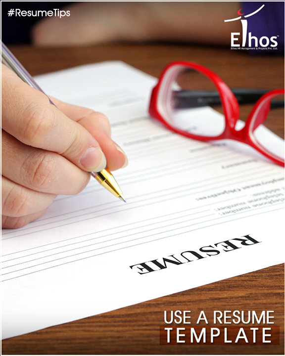 Ethos India,  ResumeTips, EthosIndia, Ahmedabad, EthosHR, Recruitment