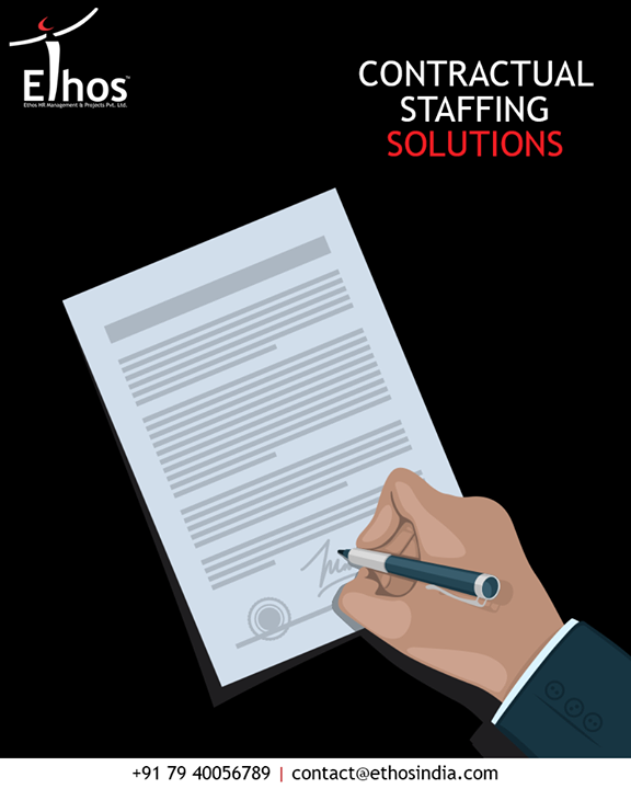 Ethos helps you to find the best temporary or contractual staffing solutions without spending a fortune.  #EthosIndia #Ahmedabad #EthosHR #Recruitment