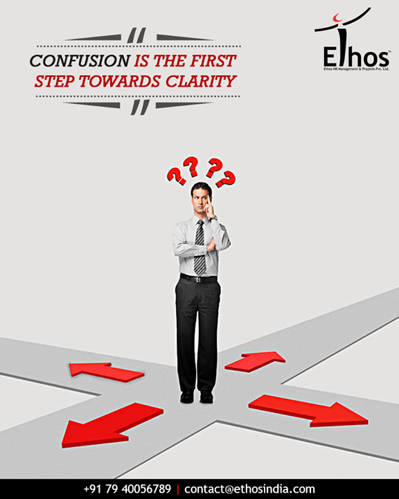 Efficiently bridge the gap between confusion and clarity with the expert guide; Ethos India.  #MondayMotivation #QOTD #EthosIndia #Ahmedabad #EthosHR #Recruitment #RPO #RecruitmentProcessOutsourcing