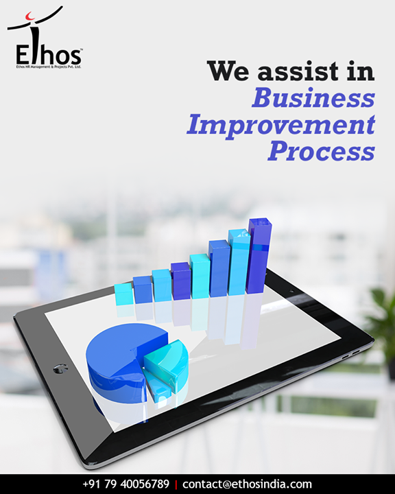Ethos India helps you to re-design your existing business operations and structure assisting your overall Business Improvement Process.  #BusinessOperations #BusinessImprovementProcess #EthosIndia #Ahmedabad #EthosHR #Recruitment #BPI #RPO #RecruitmentProcessOutsourcing