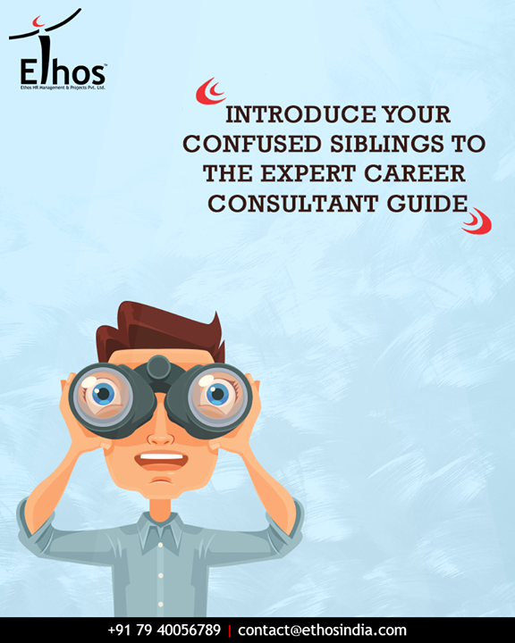Have a sibling who is struggling to find the right career path? This #RakshaBandhan give your confused siblings a thoughtful gift by introducing them to the expert career consultant & guide; Ethos India.  #GuideYourSibling #ThoughtfulGift #ExpertCareerGuide #EthosIndia #Ahmedabad #EthosHR #Recruitment #CareerGuide #SuccessfulCareer #BPI #RPO #RecruitmentProcessOutsourcing
