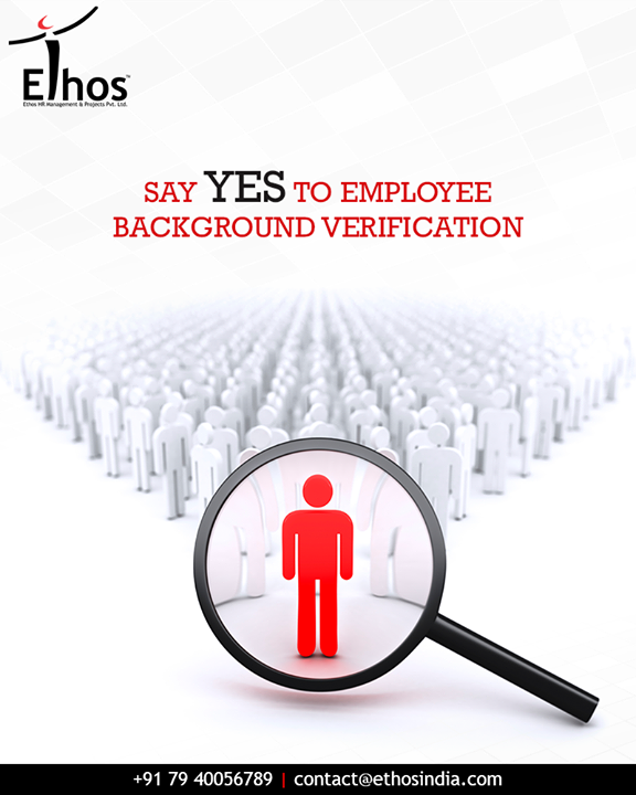 Take a look at the multiple benefits of doing employee background checks and say YES to employee background verification with Ethos India: - Promotes job competency - Maintains honesty & integrity - Secures workplace safety  #EmploymentBackgroundCheck #RPO #RecruitmentProcessOutsourcing #EthosIndia #Ahmedabad #EthosHR #Recruitment #JobEmployment #CareerGuide #SuccessfulCareer #BPI #RPO #RecruitmentProcessOutsourcing