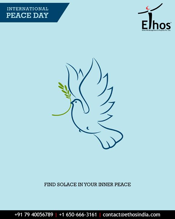 Ethos India,  InternationalDayOfPeace, PeaceDay, WorldPeaceDay, PeaceDay2018, EthosIndia, Ahmedabad, EthosHR, Recruitment