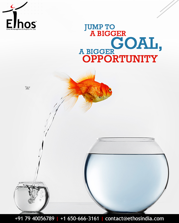 With the passage of time and professional growth, it is inevitable to move to a bigger goal, bigger opportunity for new learnings and further developments on personal and professional fronts. Let Ethos India guide you through it.  #BiggerOpportunity #BiggerGoal #ProfessionalGrowth #CareerGrowth #EthosIndia #Ahmedabad #EthosHR #Recruitment #CareerGuide #India