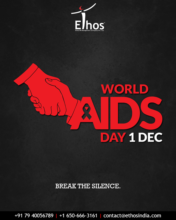 Ethos India,  WorldAidsDay, AidsDay, WorldAidsDay2018, AidsDay2018, EthosIndia, Ahmedabad, EthosHR, Recruitment, CareerGuide, India