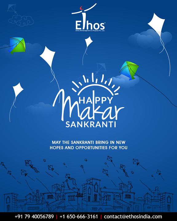 May the Sankranti bring in new hopes and opportunities for you  #HappyUttarayan #Uttarayan2019 #MakarSankranti #IndianFestivals #FestivalsOfIndia #KiteFestival #KiteFlying #EthosIndia #Ahmedabad #EthosHR #Recruitment #CareerGuide #India