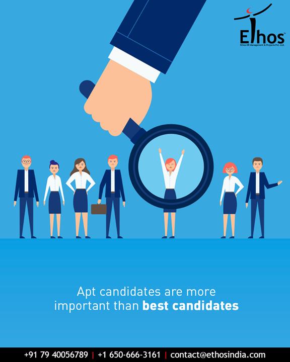 Ethos India,  AptCandidates, EthosIndia, Ahmedabad, EthosHR, Recruitment, CareerGuide, India