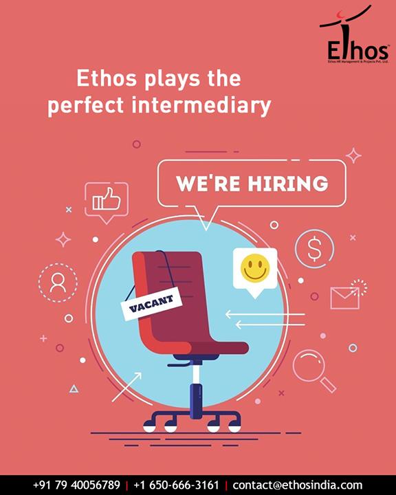 For the candidates wishing to change jobs and for the companies wishing to hire right candidates.  #EthosIndia #Ahmedabad #EthosHR #Recruitment #CareerGuide #India