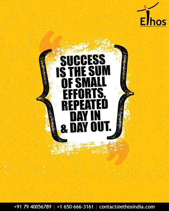 Ethos India,  QOTD, TOTD, MondayMotivations, EthosIndia, Ahmedabad, EthosHR, Recruitment, CareerGuide, India