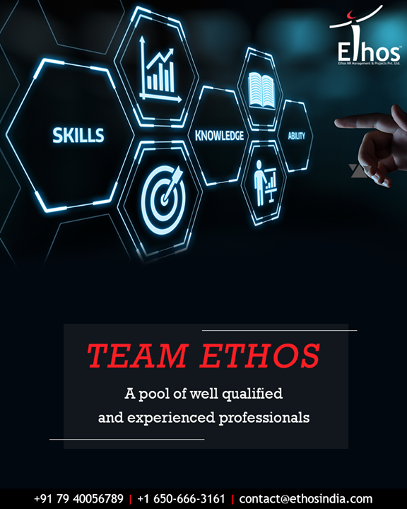 Team Ethos India is a pool of well qualified and experienced professionals in their respective areas, which enables them to serve key consulting needs across all corporate disciplines & promote quality service delivery through its people, affiliations & associates in India & Overseas.  #TeamEthos #EthosIndia #Ahmedabad #EthosHR #Recruitment #CareerGuide #India