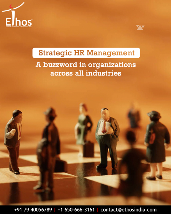 Strategic HR Management sees how the human resource function can be more agile and market-driven to deliver better business value and create a sustainable competitive advantage for the organizations.  #StrategicHRManagement #EthosIndia #Ahmedabad #EthosHR #Recruitment #CareerGuide #India