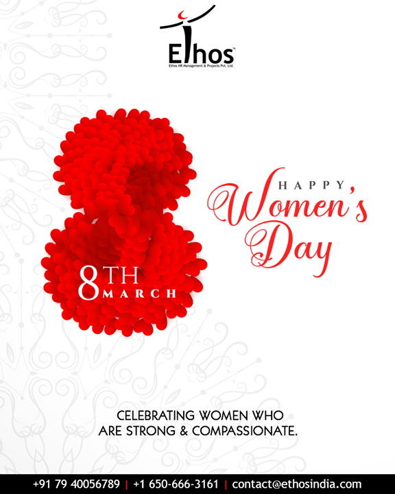 Ethos India,  WomensDay, InternationalWomensDay, HappyWomensDay, WomensDay2019, 8March2019