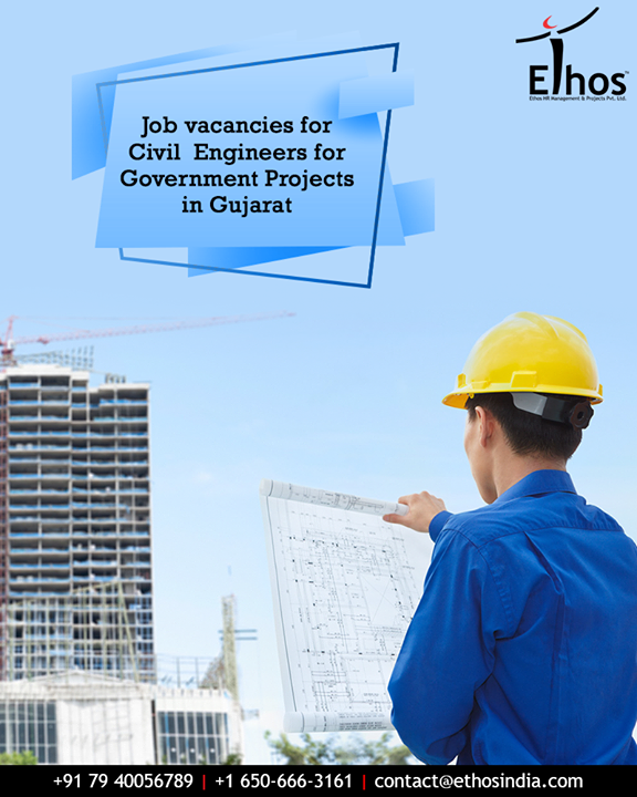 Look for the contact details below to apply –   Contact – 07940056789 Email - contact@ethosindia.com, crd@ethoshr.net Link - https://ethosindia.com/  #CivilEngineers #EthosIndia #Ahmedabad #EthosHR #Recruitment #CareerGuide #India