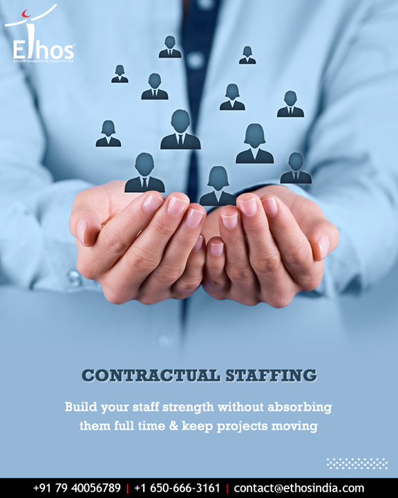 Ethos India provides reliable contractual staffing that gives you the flexibility of an agile, on-demand workforce who is equipped to run your business operations just the way you want them to.  #ContractualStaffing #EthosIndia #Ahmedabad #EthosHR #Recruitment #CareerGuide #India