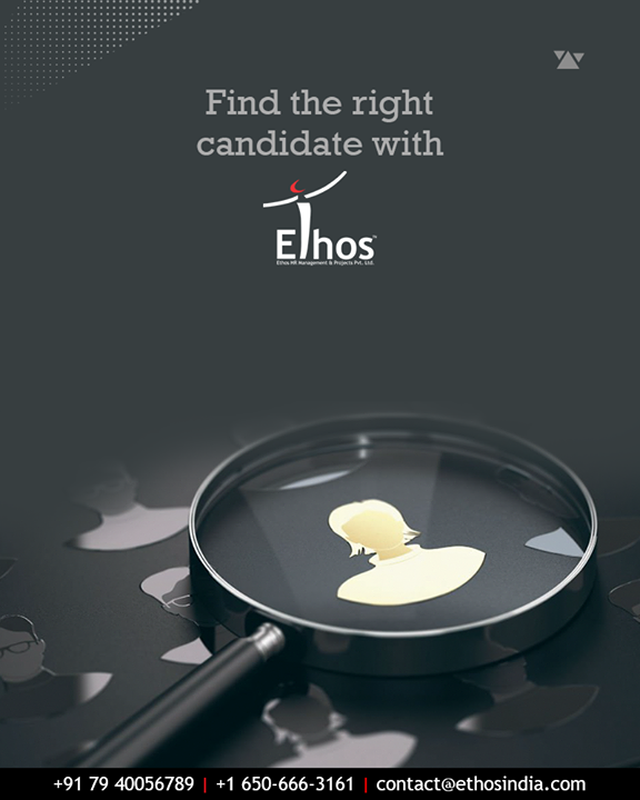 Ethos India helps the organizations find the right candidate from so many available options.  #EthosIndia #Ahmedabad #EthosHR #Recruitment #CareerGuide #India