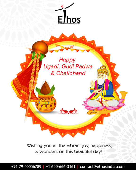 Ethos India,  GudiPadwa, ChetiChand, HappyUgadi, IndianFestival, EthosIndia, Ahmedabad, EthosHR, Recruitment, CareerGuide, India
