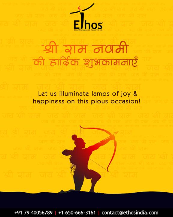 Ethos India,  RamNavami, रामनवमी, JaiShriRam, RamNavami2019, HappyRamNavami, IndianFestival, EthosIndia, Ahmedabad, EthosHR, Recruitment, CareerGuide, India