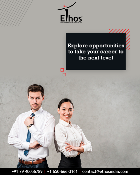 Need help brainstorming a new career direction that you will love?  Explore opportunities to take your career to the next level with us.  #EthosIndia #Ahmedabad #EthosHR #Recruitment #CareerGuide #India