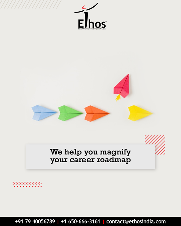 No two men are the same and hence the career choices differ from person to person.  Realize your career goals and choose the right vocation for yourself.  #CareerOpportunities #EthosIndia #Ahmedabad #EthosHR #Recruitment #CareerGuide #India
