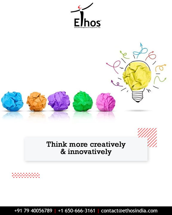 A change in mindset, which is away from traditional thinking, is important for attaining self-employment. Think more creatively & innovatively with Ethos India.  #EthosIndia #Ahmedabad #EthosHR #Recruitment #CareerGuide #India