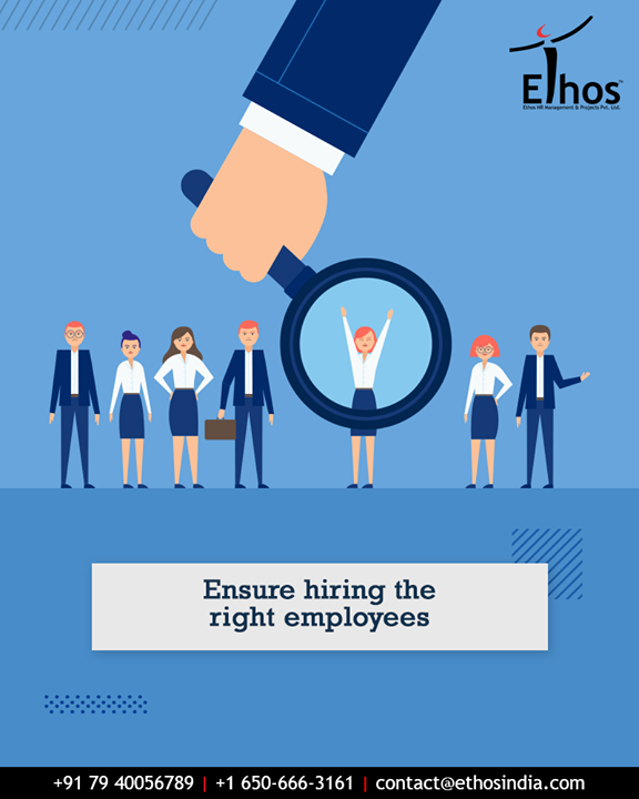 The employees can make or break an enterprise.  We are here to help you move in the right direction by helping you to find the right employee for your enterprise.  #EthosIndia #Ahmedabad #EthosHR #Recruitment #CareerGuide #India