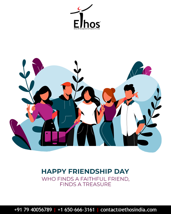 Ethos India,  FriendshipDay, FriendshipDay2019, HappyFriendshipDay, Friends, EthosIndia, Ahmedabad, EthosHR, Recruitment, CareerGuide, India