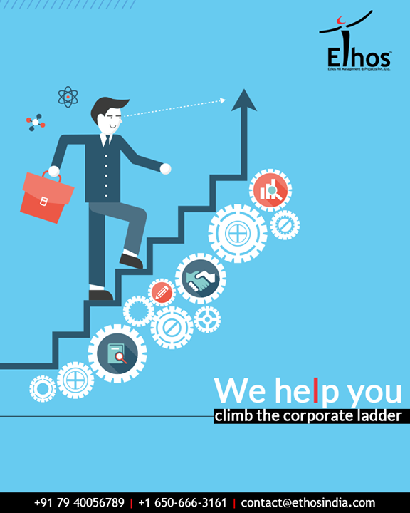 Looking for some assistance to climb the corporate ladder? Get in touch with Ethos India.  #EthosIndia #Ahmedabad #EthosHR #Recruitment #CareerGuide #India