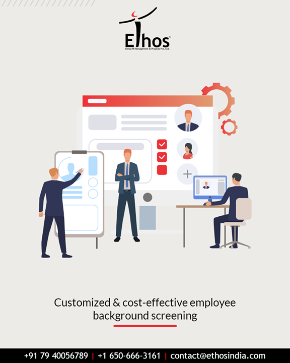 Your human capital is your biggest asset; hence ensure investing in the best.  Get customized & cost-effective employee background screening done with Ethos India.  #EthosIndia #Ahmedabad #EthosHR #Recruitment #CareerGuide #India