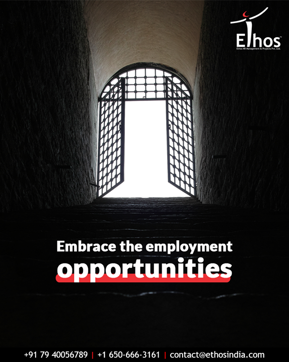 Beat the job crisis, identify the field of your choice and embrace the employment opportunities with Ethos India.  #EthosIndia #Ahmedabad #EthosHR #Recruitment #CareerGuide #India