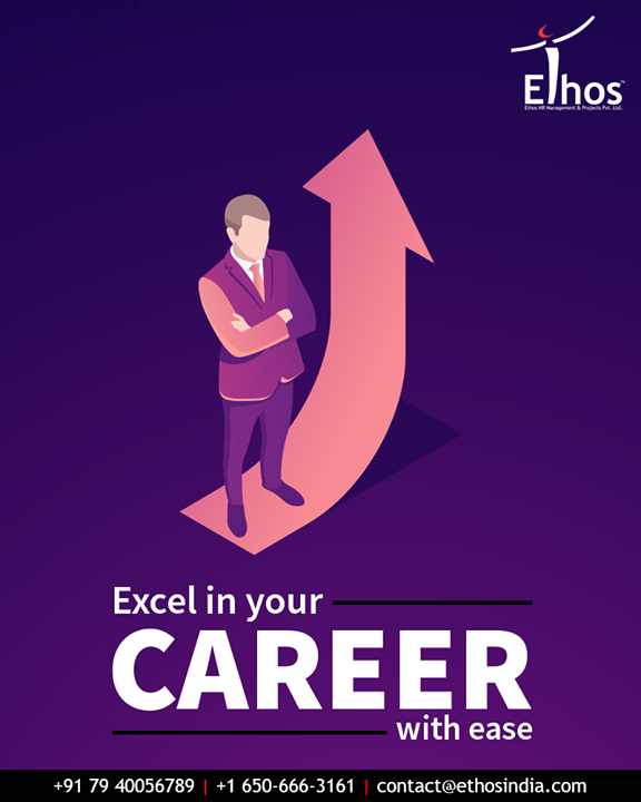 By keeping you professionally updated with the competitive career environment, we help you to achieve your desired career goals.  #EthosIndia #Ahmedabad #EthosHR #Recruitment #CareerGuide #India
