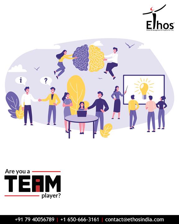 Team work is important to move forward and moving forward means Success. #EthosIndia #Ahmedabad #EthosHR #Recruitment #CareerGuide #India