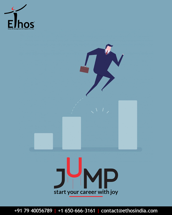 Broaden and magnify you career perspective!  Jump start your career with joy with the career guide expertise; Ethos India.  #EthosIndia #Ahmedabad #EthosHR #Recruitment #CareerGuide #India