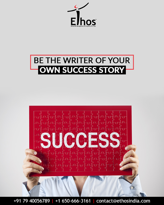 You can achieve anything in life if you have the desire to do so and if you get directed onto the right career path.  Be the writer of your own success story with our expert guidance.  #EthosIndia #Ahmedabad #EthosHR #Recruitment #CareerGuide #India