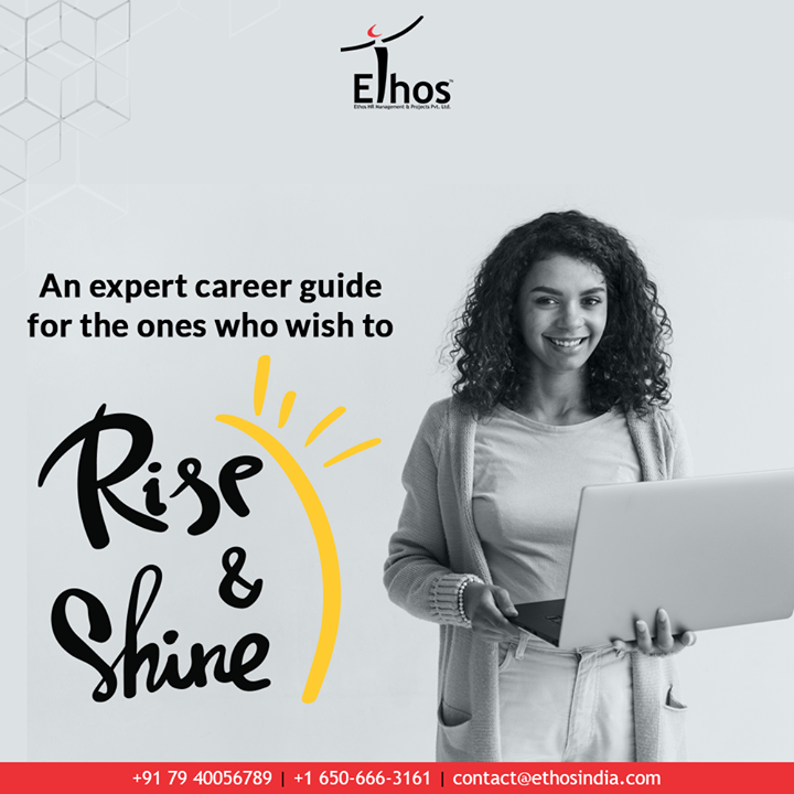 Willing to give a twisted turn to your career graph?  Get in touch with theexpert career guide.  #CareerOptions #CareerGrowth #EthosIndia #Ahmedabad #EthosHR #Recruitment #CareerGuide #India