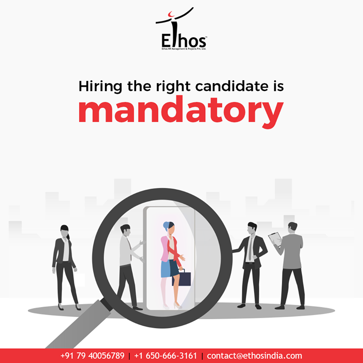 Hiring the right candidate is mandatory but you don't have to struggle for it compulsorily.  Get in touch and we will help you with a hassle-free employee background verification process.  #CareerOpportunities #EmployeeVerification #EmployeeVerificationService #EthosIndia #Ahmedabad #EthosHR #Recruitment #CareerGuide #India