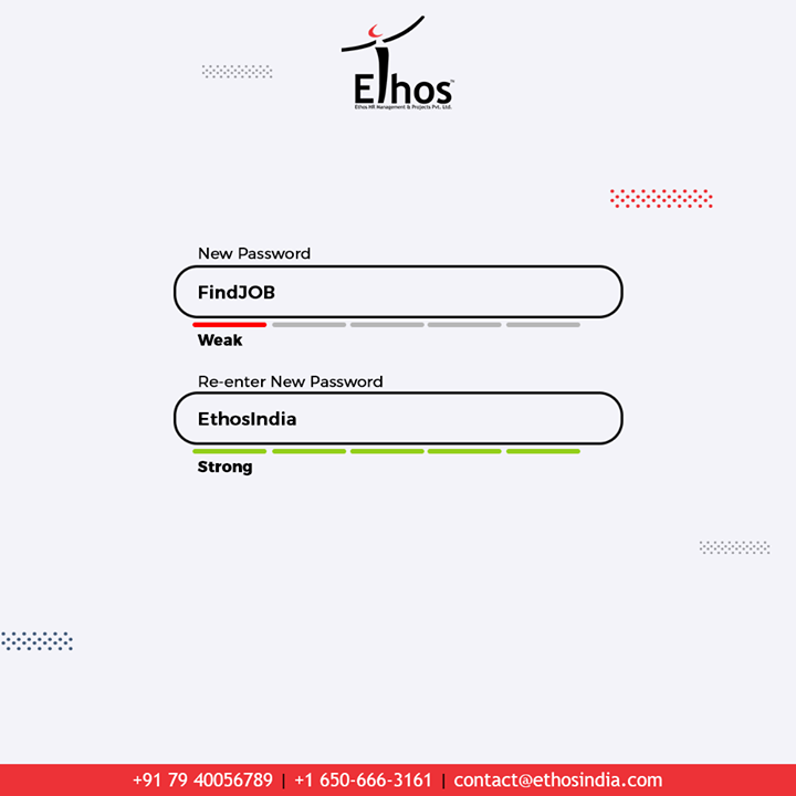 Ethos India, the password of your dream Job.  #TrendingNow #TrendingFormat #ReEnterPassword #NewPassword #Password #Trending #TrendSpot #CareerOpportunities #EmployeeVerification #EmployeeVerificationService #EthosIndia #Ahmedabad #EthosHR #Recruitment #CareerGuide #India