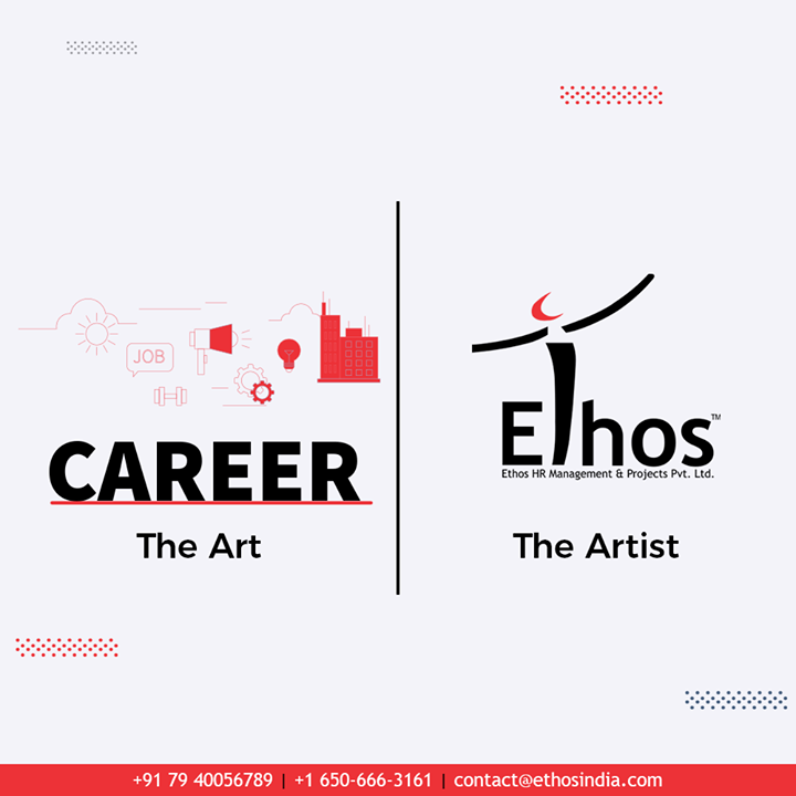 Ethos helps you find the most apt Job for you.  #TheArtVsTheArtist #TrendingNow #TrendingFormat #Trending #EthosIndia #Ahmedabad #EthosHR #Recruitment #CareerGuide #India
