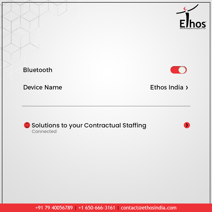 Stay #ConnectedTo Ethos India for contractual staffing  #Trending #TrendingPosts #EthosIndia #Ahmedabad #EthosHR #Recruitment #CareerGuide #India