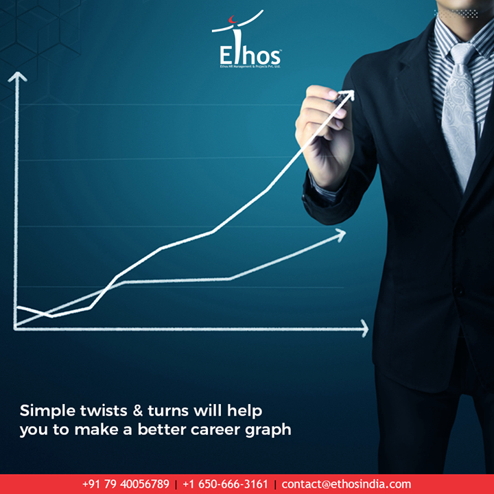 The best way to be prepared for success is to make a plan & act accordingly. Remember that the simple twists & turns will help you to make a better career graph.  #EthosIndia #Ahmedabad #EthosHR #Recruitment #CareerGuide #India