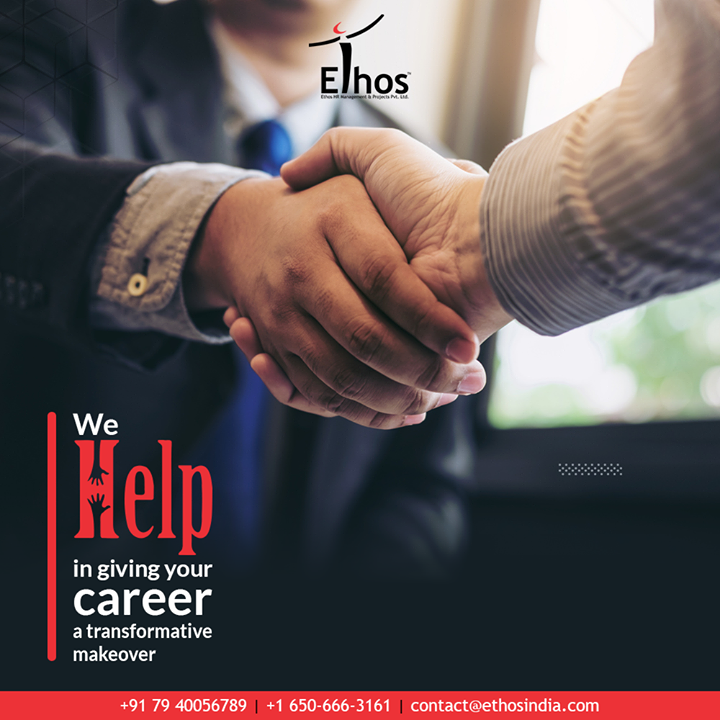 Looking to get the right kind of career suggestions form the expert career guide? Get in touch and we will help in giving your career a transformative makeover.  #EthosIndia #Ahmedabad #EthosHR #Recruitment #CareerGuide #India