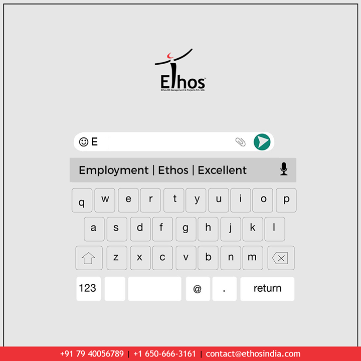 Ethos India,  TrendingFormat, NewTrend, MyTypeChallenge, EthosIndia, Ahmedabad, EthosHR, Recruitment, CareerGuide, India
