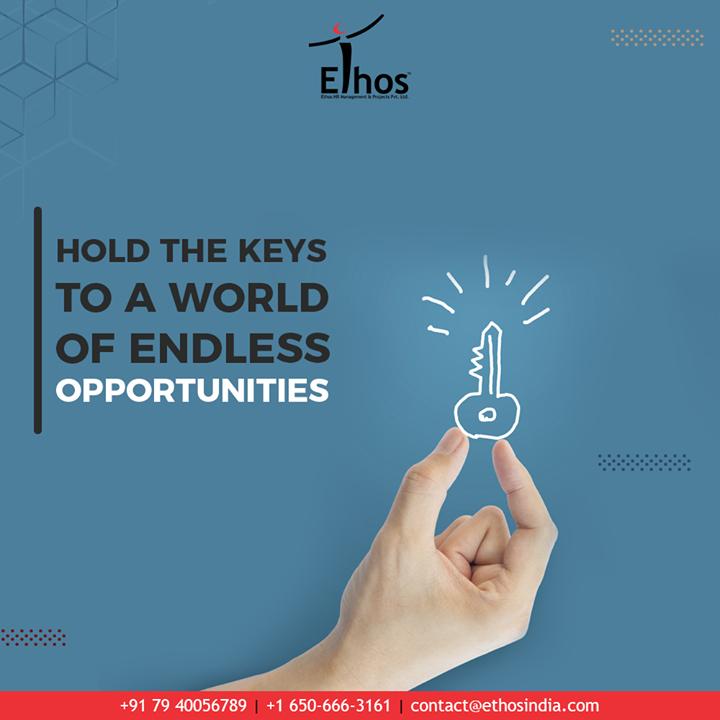 Embrace success and hold the keys to a world of endless opportunities with Ethos India.  #EthosIndia #Ahmedabad #EthosHR #Recruitment #CareerGuide #India
