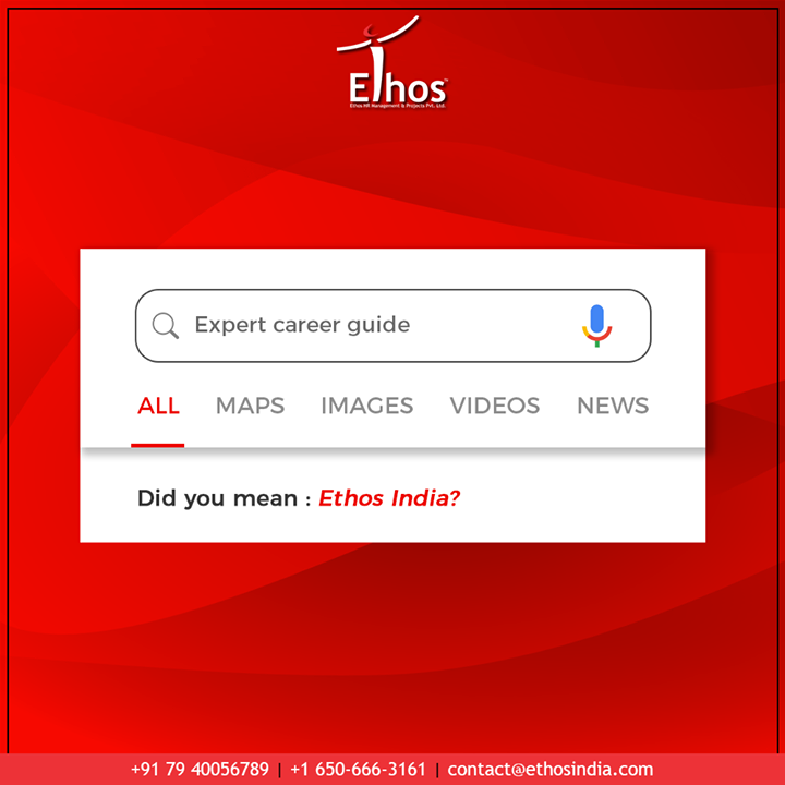 If you are looking for career assistance; then trust only the best.  #TrendingFormat #CareerOpportunity #EthosIndia #Ahmedabad #EthosHR #Recruitment #CareerGuide #India