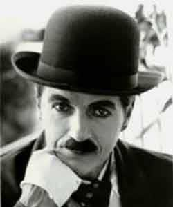 Thought for the weekend-   We think too much and feel too little - Charles Chaplin