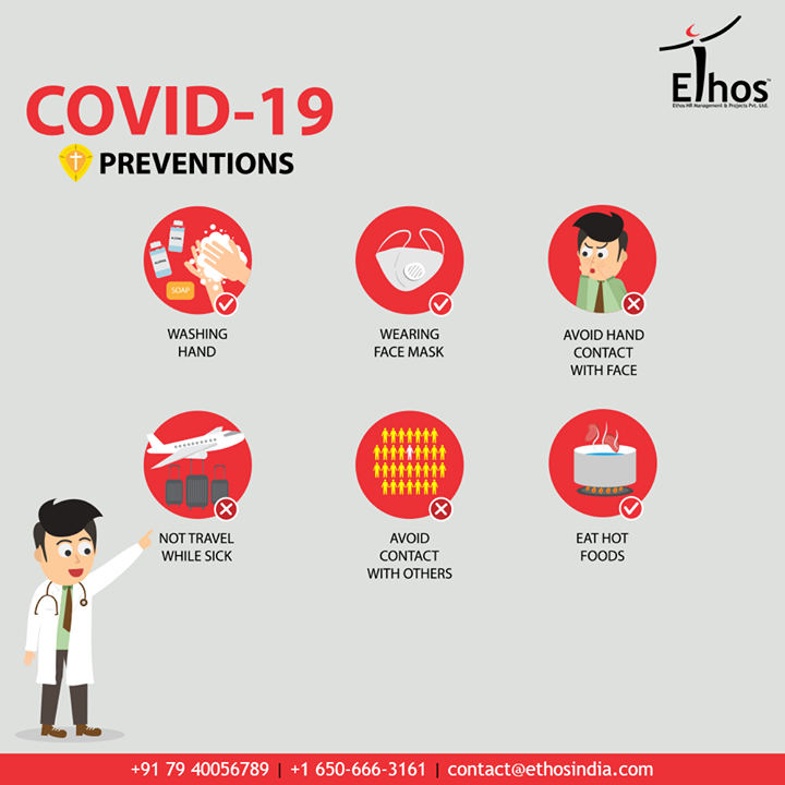 Stay aware and take special care.  #FightCorona #CareerOpportunity #EthosIndia #Ahmedabad #EthosHR #Recruitment #CareerGuide #India