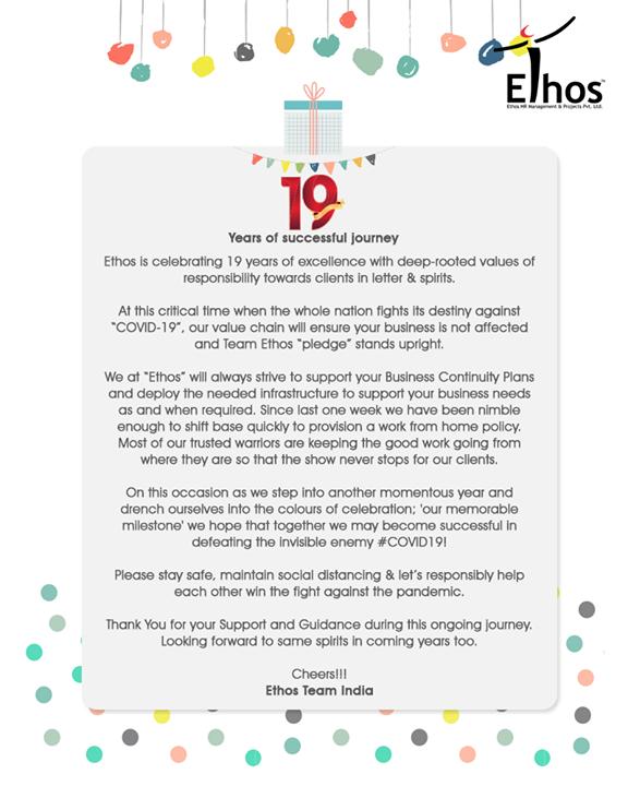 Ethos India,  Birthday, CareerOpportunity, EthosIndia, Ahmedabad, EthosHR, Recruitment, CareerGuide, India