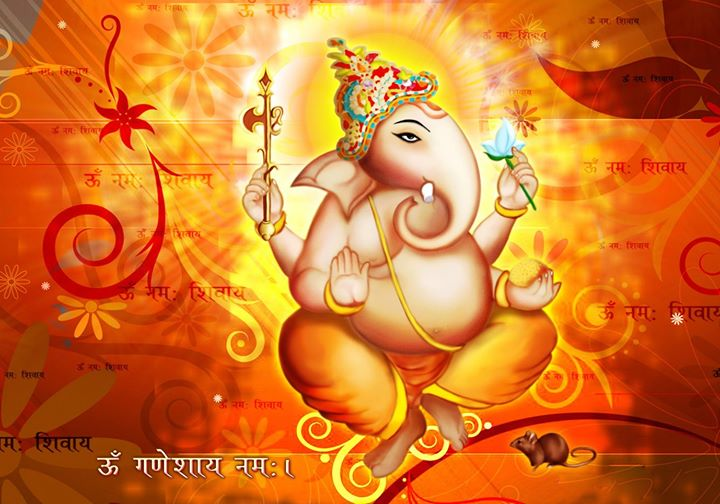 May Lord Ganesh shower you with success in all your Endeavors Happy Vinayaka Chaturthi.