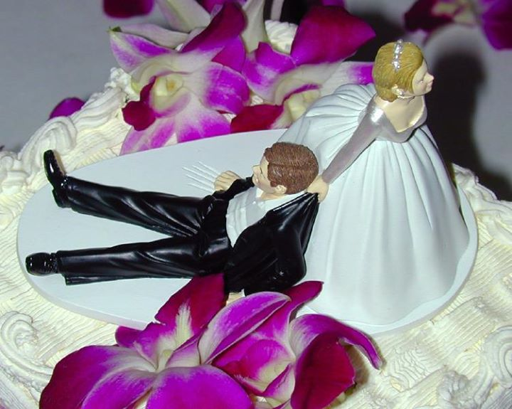 Thought for the day!   Marriage is man and a woman become one. The trouble starts when they try to decide which one.