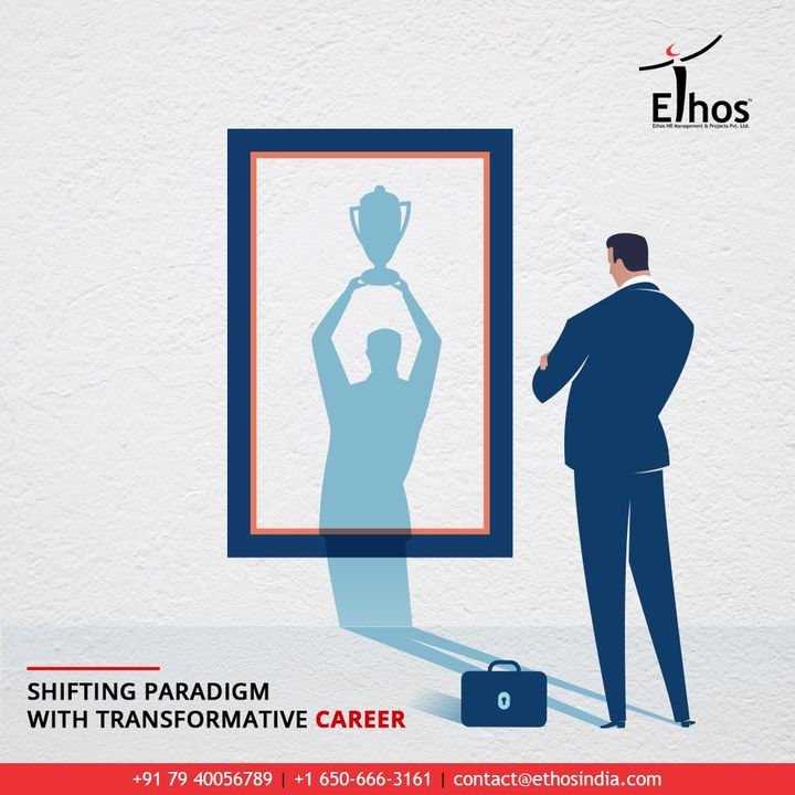 At Ethos India, we strive to shift the paradigm with our guidance so you can achieve your dream transformative career.   #CareerPath #EthosIndia #Ahmedabad #EthosHR #Recruitment #CareerGuide #India